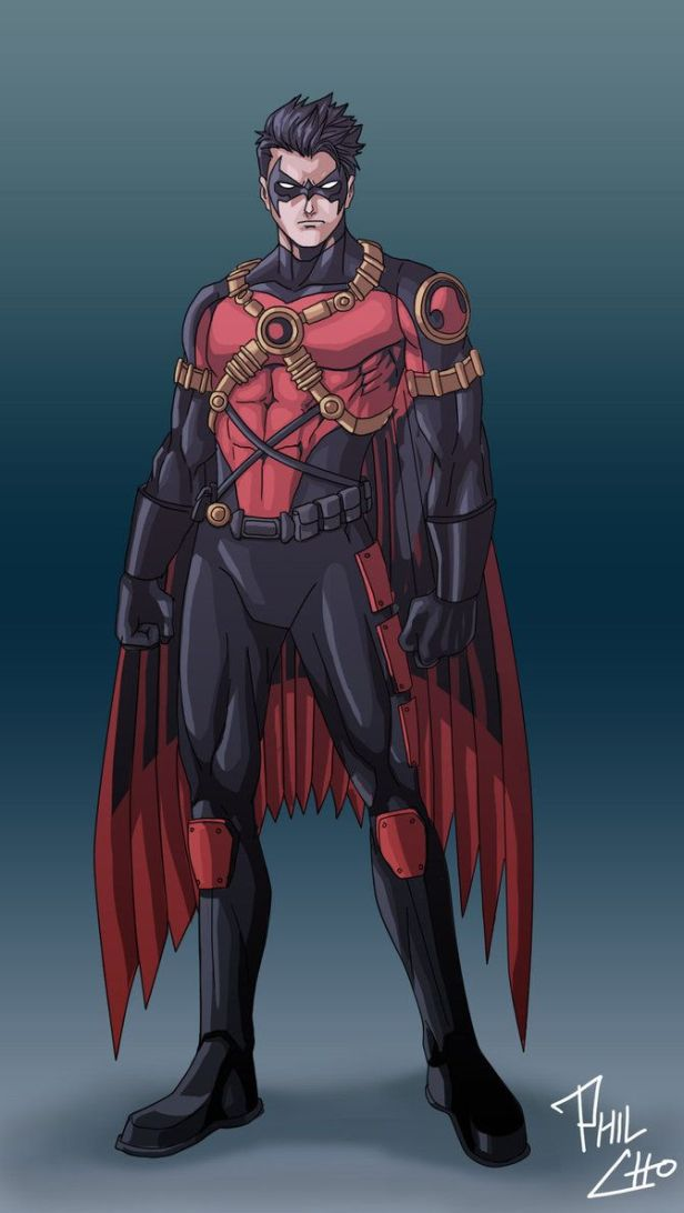 red robin tim drake wings version
