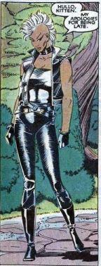 O visual punk de Tempestade, nos anos 1980, por Paul Smith.