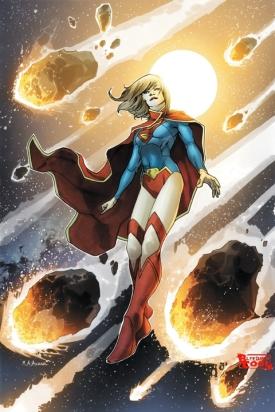 A nova Supergirl de Os Novos 52.