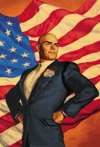 Superman lex-luthor for president