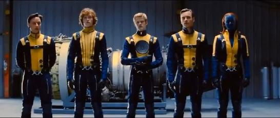 x-men-first-class with uniforms