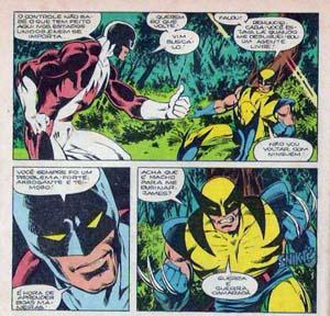 X-Men - guardião vs wolverine by john byrne