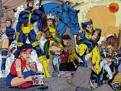 X-Men - pagina by jim lee