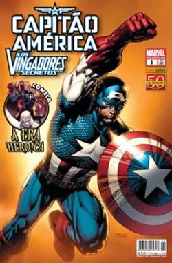 """A histórias dos Vingadores Secretos começaram a sair agora no Brasil, na nova revista """"Capitão América e os Vingadores Secretos"""", da editora Panini."""