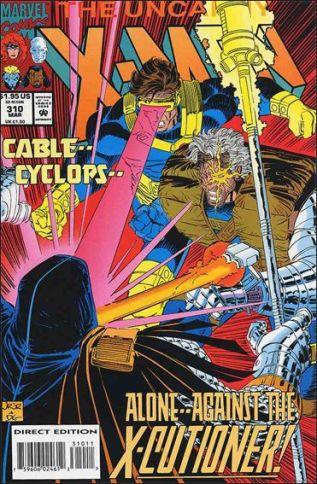 Ciclope e Cable juntos por John Romita Jr.