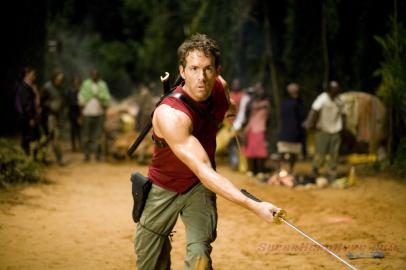 "Ryan Reynolds fez Deadpool em ""X-Men Origens - Wolverine""."