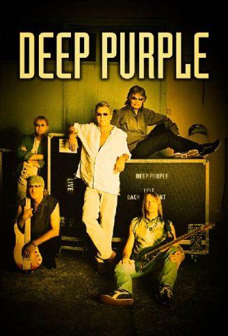 A formação atual do Deep Purple: no Brasil de novo.