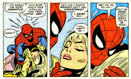 O maior drama do Homem-Aranha.