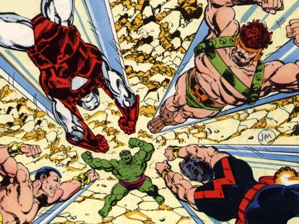Avengers - Hulks attack by john byrne
