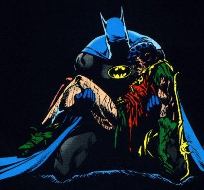 A morte do Robin II por Starlin e Aparo: clássico dos anos 1980.