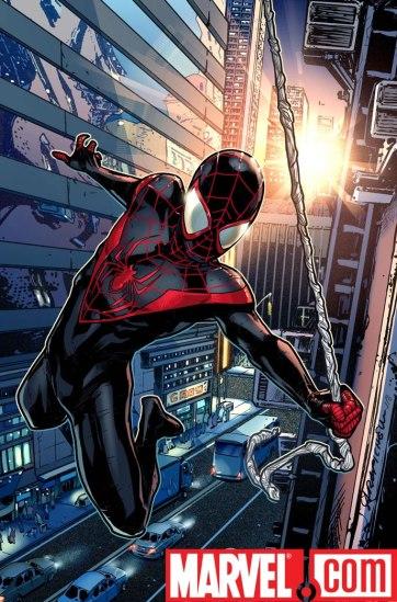 O novo Homem-Aranha Ultimate, Miles Morales.
