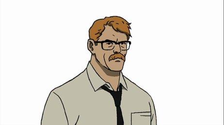 Gordon no desenho animado Batman: Ano Um.