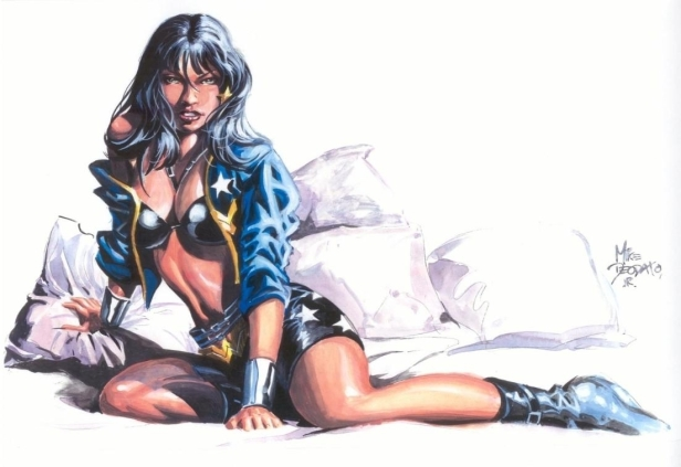 Mulher Maravilha por Mike Deodato