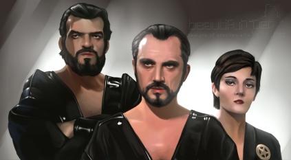 General Zod (ao meio) e seus comparsas: filme definiu o personagem como o grande vilão.