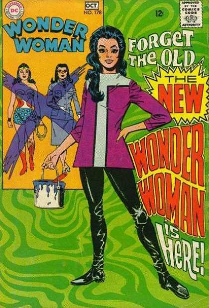 wonder woman 178 cover 1968