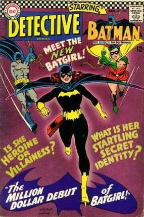 detective comics batgirl