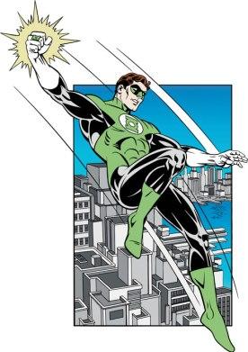 O Lanterna Verde Hal Jordan é o mais famoso.