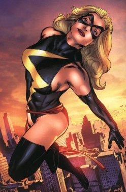 Miss Marvel: uma das vingadoras mais poderosas.