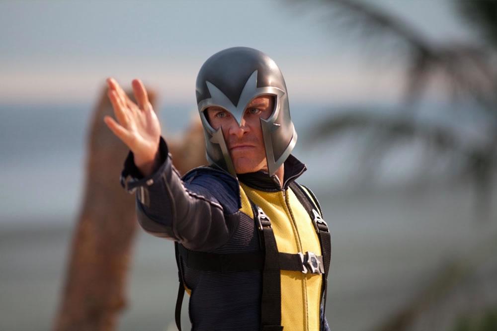 x-men first class - Magneto com elmo