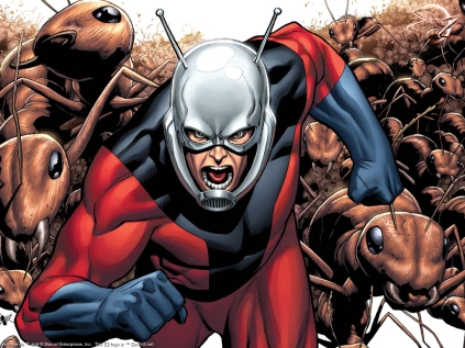 Homem-Formiga nos quadrinhos.