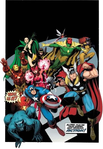 Os Vingadores da época de Englehart.