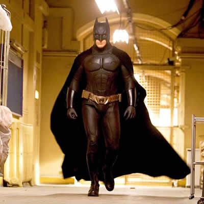"""A versão de Christopher Nolan e Christian Bale em """"Batman Begins""""."""