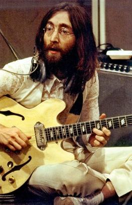 John Lennon nas sessões de Abbey Road: Come together.