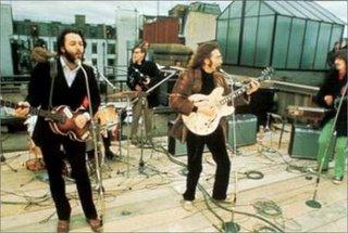 Os Beatles no fim da carreira.