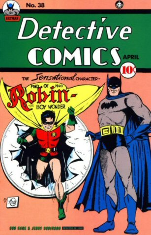 O Robin também foi criado por Finger.