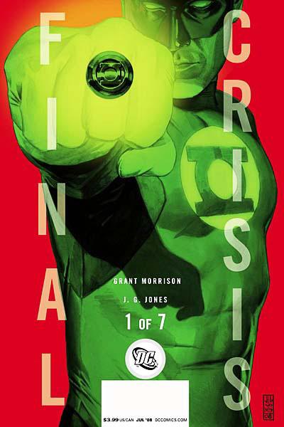 Green Lantern - final crisis cover