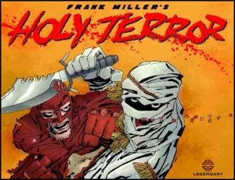 Capa de Holly Terror: discurso contra o islã e os mulçumanos.