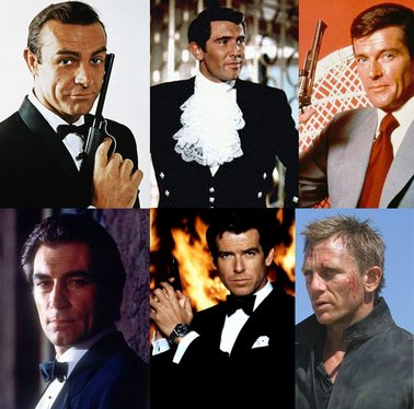 007 james bond six