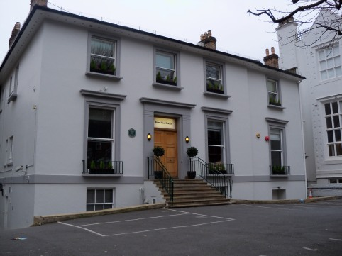 Os Estúdios Abbey Road em Londres.