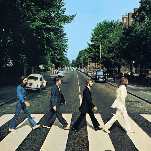 """A capa de """"Abbey Road"""" dos Beatles: melhor dos melhores."""