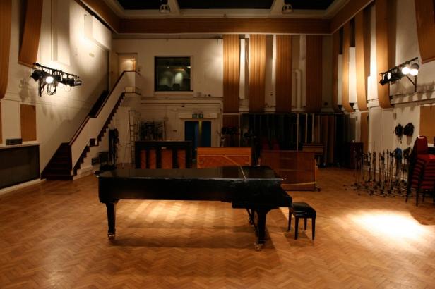 O mágico Estúdio 2 em Abbey Road, ligar favorito dos Beatles.