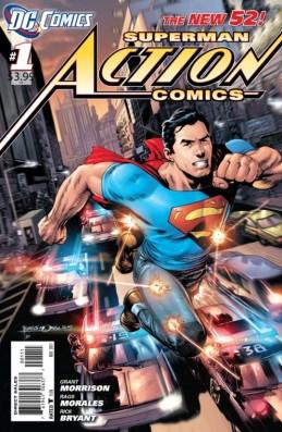 Superman começou a agir sem uniforme.