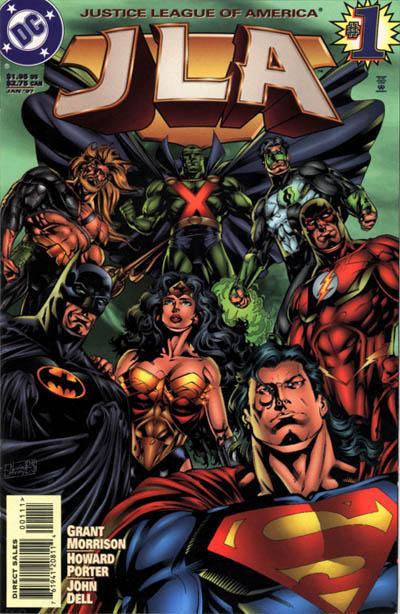 Liga da Justiça - os sete grandes de grant morrison