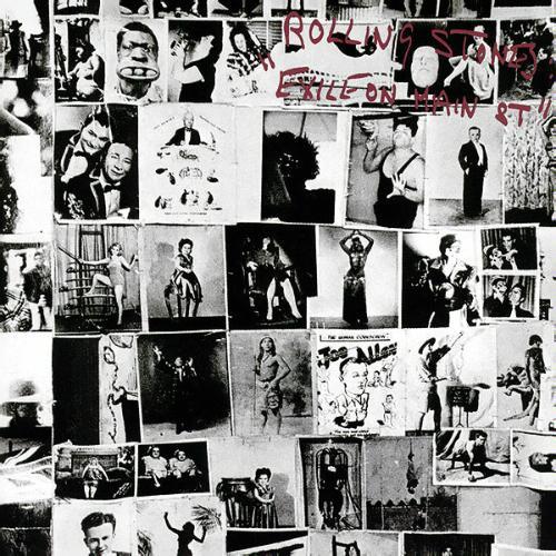 A capa de Exile on Main Street, de 1972: para muitos, o melhor dos Rolling Stones.