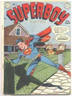 Os pais do Superman (a dir.) demoraram para ter versão definida.