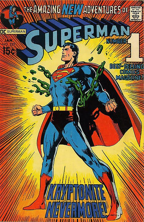 Superman 233 (cover by neal adams)