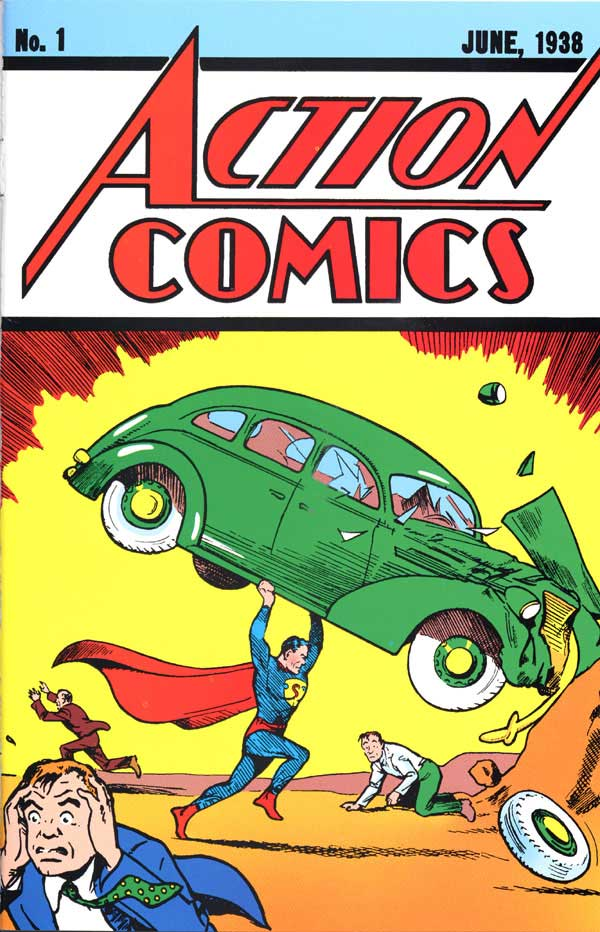 Superman action-comics-1 1938 cover