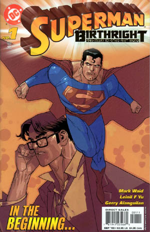 Superman Birthright 01 cover