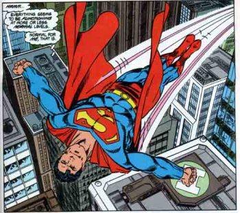 O Superman de John Byrne.