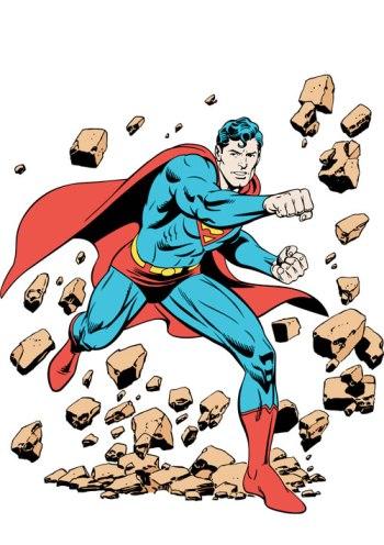 Superman: o homem de aço.