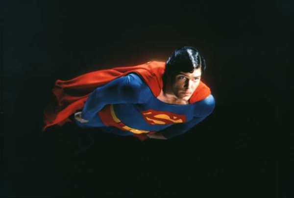 superman in space by christopher reeve