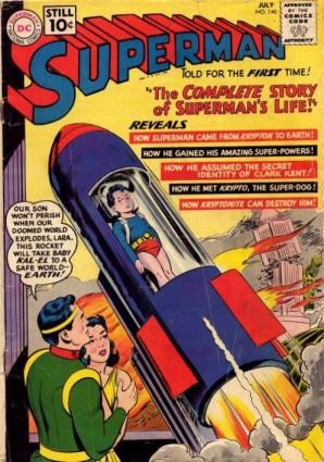 """""""Superman 146"""", de 1961, consolida a cronologia do herói na Era de Prata."""