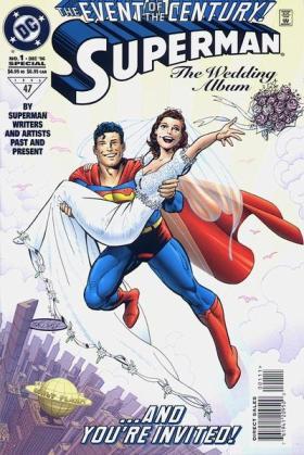 O casamento de Lois e Clark em 1998: marco histórico.
