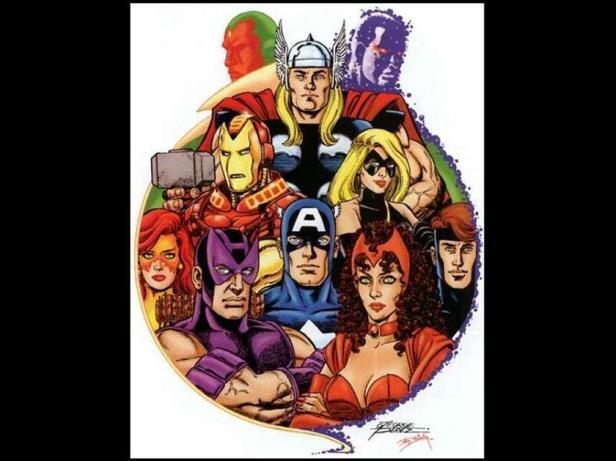 Os Vingadores no universo tradicional...