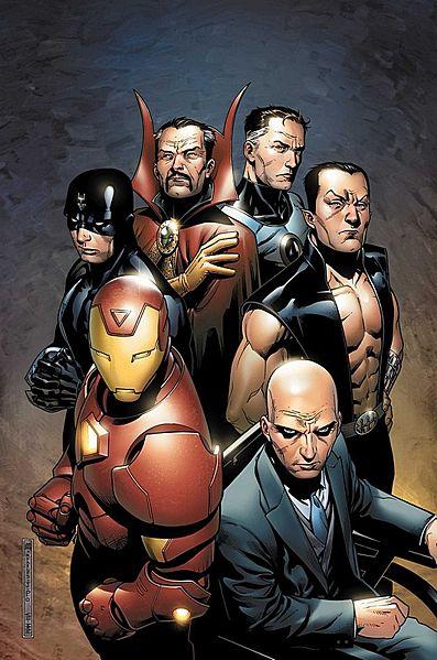 avengers - illuminatis by frank cho
