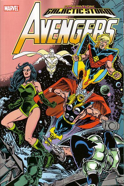 Avengers-Operation Galatic Storm vol. 1
